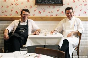 1 portrait associes restaurant bouchon lyonnais sully lyon Le Bouchon Sully