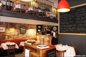 2 restaurant salle etage restaurant bouchon lyonnais sully lyon Le Bouchon Sully