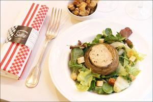 3 entree foie gras plat restaurant bouchon lyonnais sully lyon selection Le Bouchon Sully