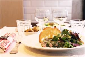 6 entree gelee restaurant bouchon lyonnais sully lyon Le Bouchon Sully