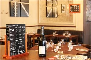01 bouteille restaurant bugeautin lyon Le Bugeautin