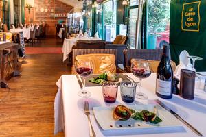 0043 table le Caro de Lyon restaurant Lyonresto Le Caro de Lyon
