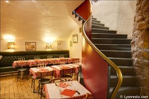 005 Le caveau des gourmands Restaurant Lyon Salle Le caveau des gourmands