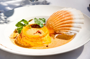 008 Cintra restaurant Lyon brasserie chic plat coquillage Le Cintra
