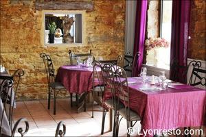 2 salle restauration restaurant clos de l ange lyon Le Clos de l'Ange