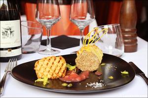 0 plat foie gras entree restaurant coeur du pitre lyon Le Coeur du Pitre