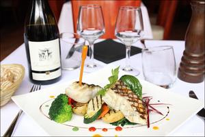 2 plat poisson restaurant coeur du pitre lyon selection Le Coeur du Pitre