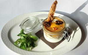00002 oeuf cocotte aux morilles restaurant Le Comptoir de Saint Cyr St Cyr  Le Comptoir de Saint Cyr (St Cyr)
