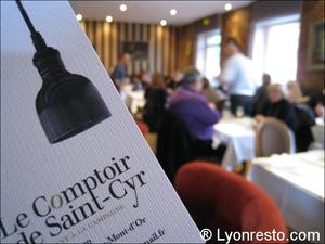 Photo  08-carte-comptoir-saint-cyr-restaurant.jpg Le Comptoir de Saint Cyr (St Cyr)