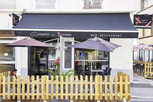 0001 Le Comptoir des Artistes restaurant Bourse du travail Lyon Le Comptoir des Artistes