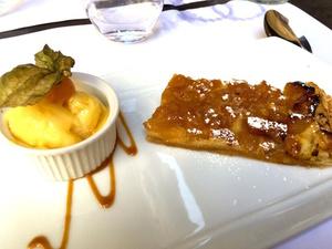 04 dessert F2 restaurant Lyon Hotel Dieu  Le F2