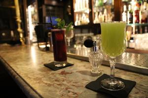 002 Le Florian bar cocktail  Le Florian