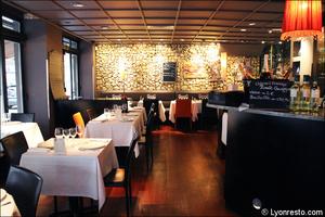 1 salle comptoir bar restaurant le gabion lyon Le Gabion