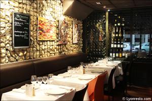 5 salle cave vins restaurant le gabion lyon Le Gabion