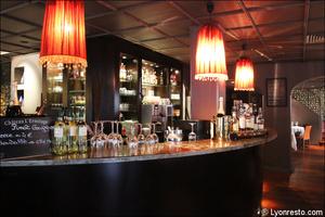 7 comptoir bar salle restaurant le gabion lyon Le Gabion