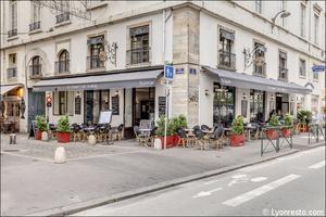 002 Le Grand Cafe Lyonnais Restaurant Lyon terrasse Le Grand Café Lyonnais (ex Paulaner)
