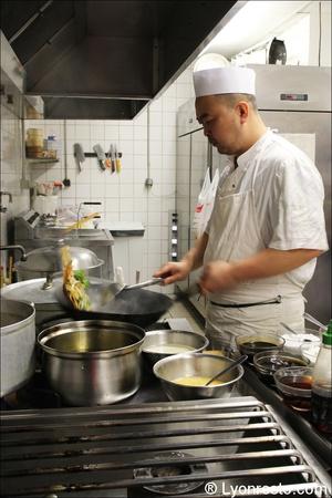1 chef restaurant chinois vietnamien venissieux jardin de l orient Le Jardin de l'Orient