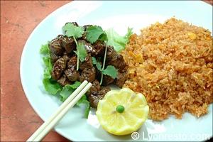 6 riz viande restaurant chinois vietnamien venissieux jardin de l orient Le Jardin de l'Orient