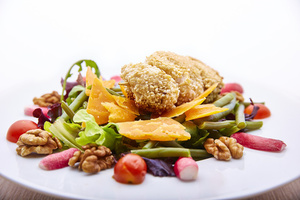 05 La Conciergerie du Ketje salade croquette poulet Le Ketje