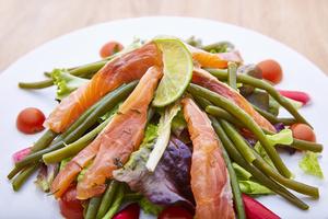 07 La Conciergerie du Ketje saumon salade Le Ketje