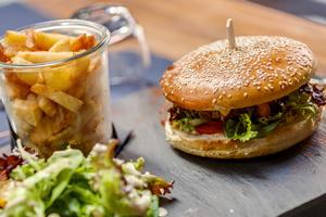 004 Le Koodeta Lyon Restaurant burger  Le Koodeta