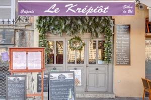 003 Krepiot restaurant creperie Vieux Lyon devanture Le Krépiôt