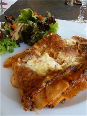 4 le magenta plat lasagne maison  Le Magenta