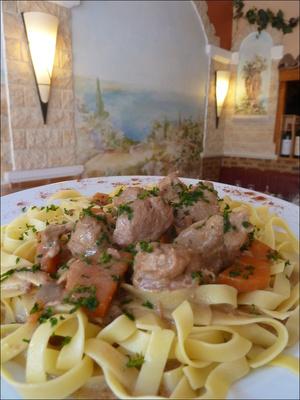 51 le magenta plat tagliatelles porc  Le Magenta