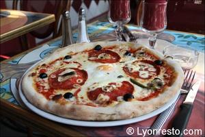 5 pizza monna lisa restaurant lyon Le Monna Lisa