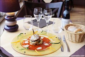 4 entree plat restaurant neolis chaponost selection Le Noelis