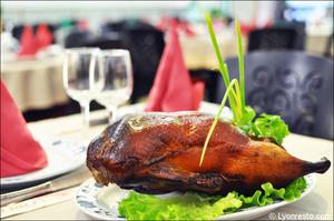 1 plat canard laque restaurant asiatique lyon palais d or Le Palais d'Or