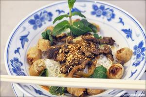 2 bo bun boeuf nems plat restaurant asiatique lyon palais d or Le Palais d'Or