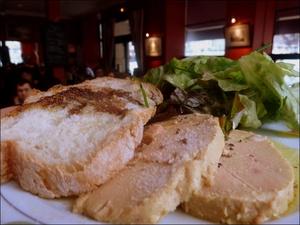 3 le patagon lyonnais entree foie gras Le patagon lyonnais