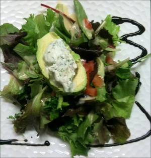 73 Le Patagon lyonnais plat salade  Le patagon lyonnais