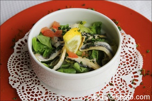 entree salade Le Petit Dauphin