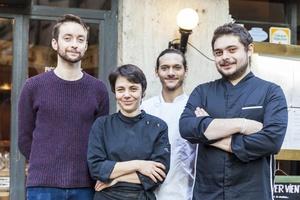 001 Pique Assiette restaurant Vieux Lyon bouchon equipe selection Le Pique Assiette