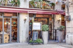 004 Pique Assiette restaurant Vieux Lyon bouchon devanture Le Pique Assiette