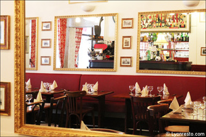 Photo  94-miroirs-restaurant-lyon-bouchon-poelon-d-or.jpg Le Poêlon d'Or