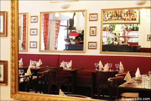 94 miroirs restaurant lyon bouchon poelon d or Le Poêlon d'Or