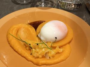 02 oeuf parfait Lyonresto Le President Christophe Marguin restaurant Lyon Le Président