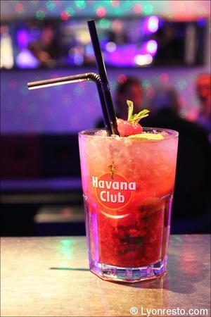 1 cocktail mojito bar restaurant festif quai 31 lyon Le Quai 31