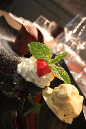42 Le reconfort dessert moelleux chocolat  Le Réconfort