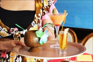 3 cocktails restaurant des iles cuisine exotique lyon Le restaurant des iles