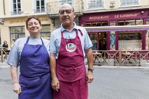 0011 Le Sathonay Restaurant portrait Le Sathonay