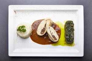 004 plat viande cuisine restaurant Lyon Vaise portrait equipe Le temps d un repas Le temps d'un repas