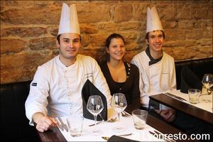 00 equipe restaurant lyon valmy verre et assiette Le Verre et l'assiette