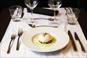 001 entree homard legumes plat restaurant lyon valmy verre et assiette Le Verre et l'assiette