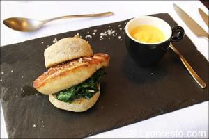 003 entree foie gras restaurant lyon valmy verre et assiette Le Verre et l'assiette