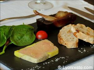 Le verre et l 39 assiette restaurant lyon r server for Decoration assiette foie gras