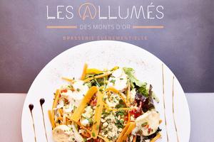 04 Les Allumes des Monts d Or entree salade Les Allumés des Monts d'Or